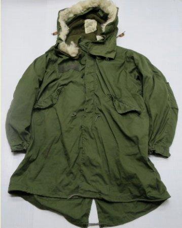 米軍実物ビンテージM-65パーカーモッズコート