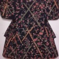 アンティーク 時代衣装琉球びんがた小袖【中古】