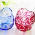 引き出物に大人気の琉球ガラスのペアグラス
